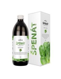 Špenát, 100 % šťava zo špenátu 500 ml