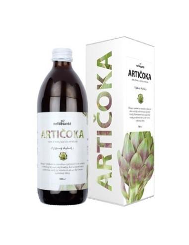 Artičoka, 100 % šťava z listov artičoky