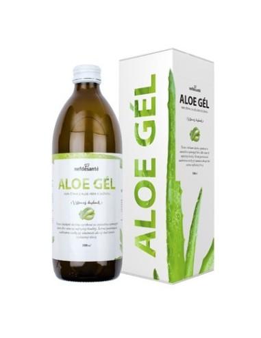 Aloe gél, 100 % šťava z Aloe vera s dužinou