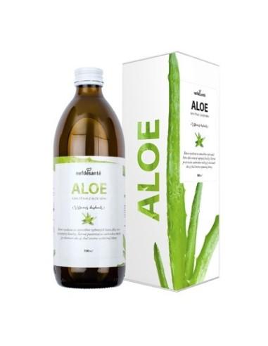 Aloe, 100 % šťava z Aloe vera