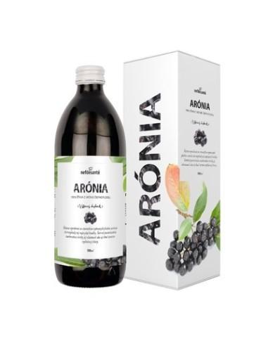 Arónia, 100 % šťava z plodov arónie čiernoplodej