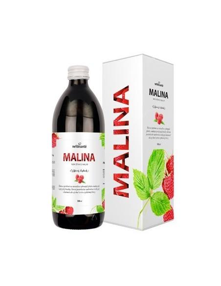 Malina, 100 % šťava z plodov maliny 500 ml