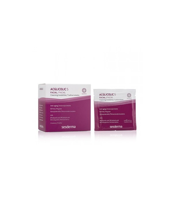 Acglicolic S Cleansing towlettes