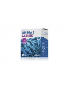 Nef de santé Omega 3 cesnak 90 kapsúl
